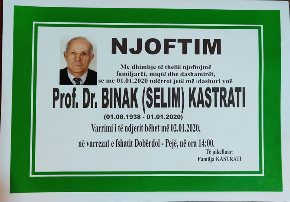 Image result for binak kastrati