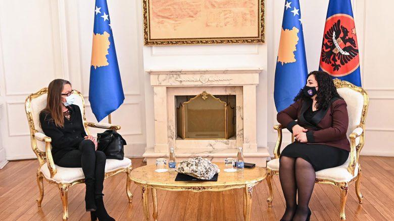 Osmani pret në takim koordinatoren e OKB-së, flasin për rezultatin e zgjedhjeve të 14 shkurtit