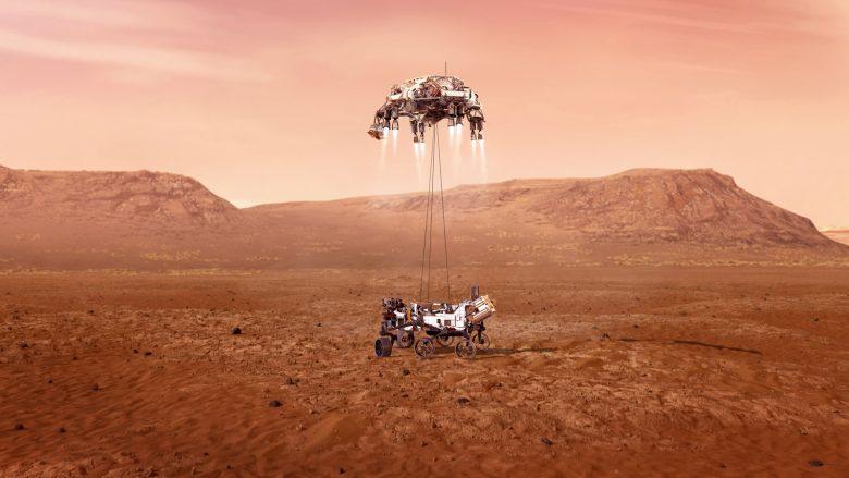Rover i NASA-s zbarkon në Mars, ky është imazhi i parë i dërguar nga Planeti i Kuq